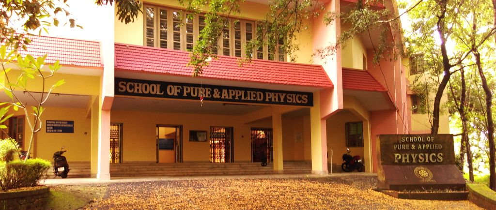 SCHOOL OF PURE AND APPLIED PHYSICS